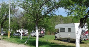 camping area Tatinac, Pozega, Serbia